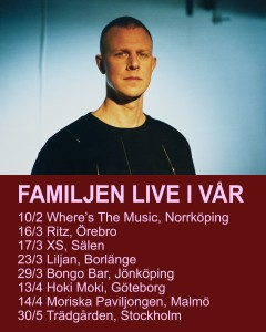 Familjen turnébild 2018